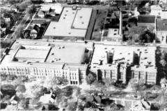 Austin High School aerial - 1955