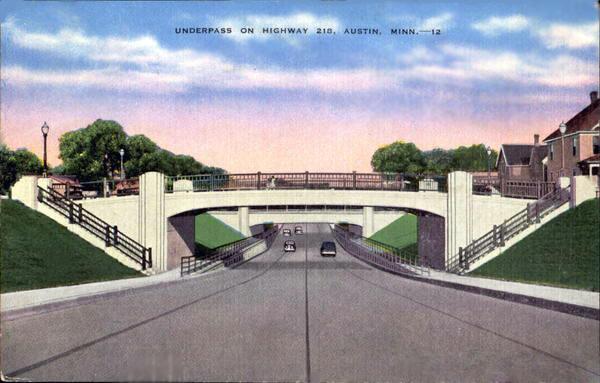 Underpass on Highway 218 Austin, Mn