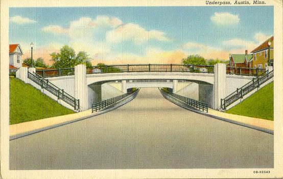 Oakland Ave Bridge Austin, Mn