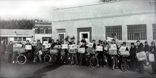 Austin Daily Herald newspaper carriers (yr. unknown)