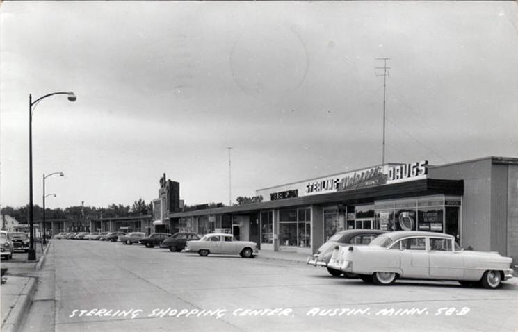 1950's Sterling Shopping Center Austin, Mn