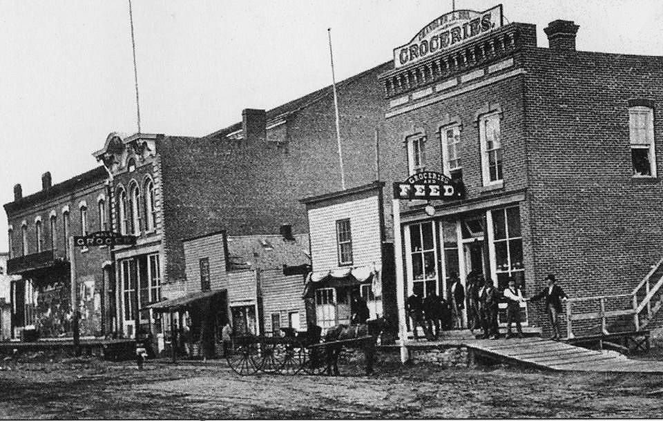 Chandler Groceries - 1876 (located at E. Mill St. - 3rd Ave. N.E.)