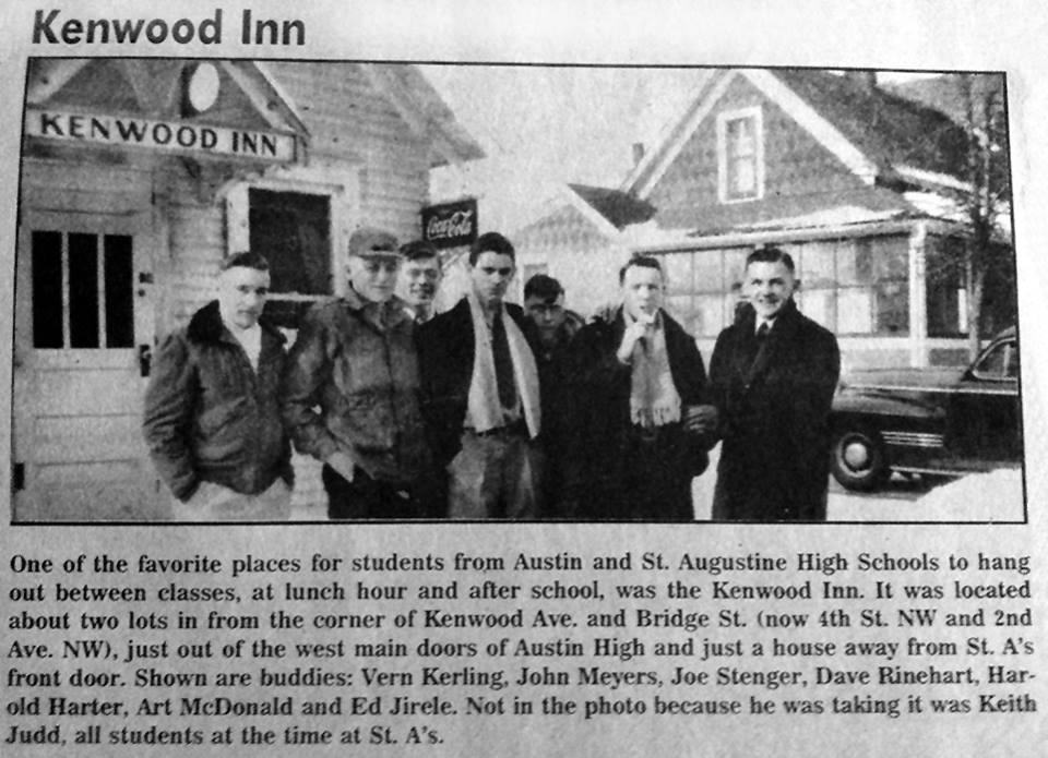 Kenwood Inn article 1940's Austin, Mn