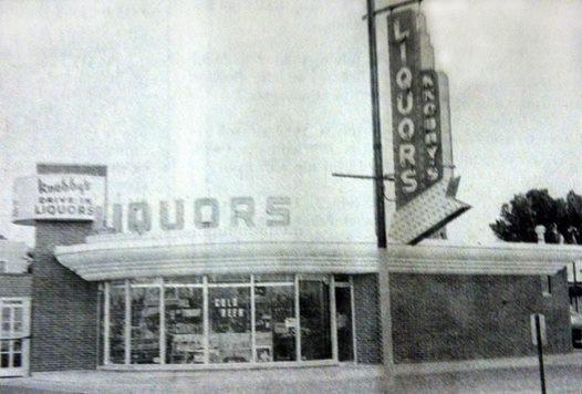 Knobby's Liquor Store before the 1978 flood Austin, Mn