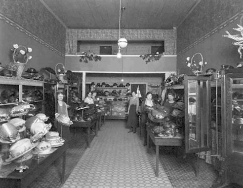 Millinery (located over G. W. Buck & Son) Austin, Mn