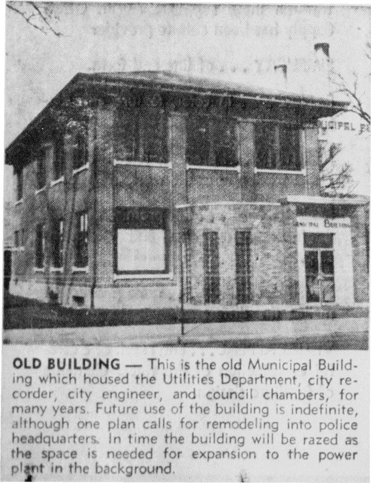 Municipal Building article - November 9th, 1961