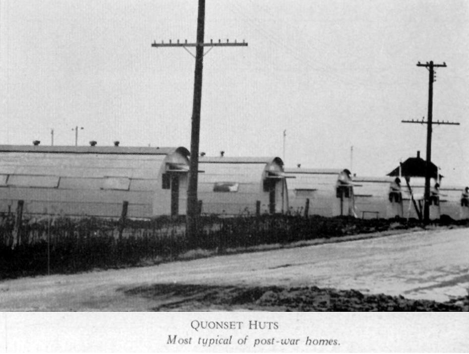 Quonset Huts - 1947