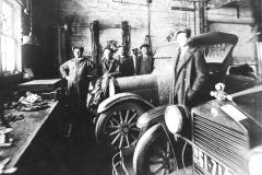 1927 Photo (Will Kelner, Archie Kelner, Ernie Anderson, Claude Enright)