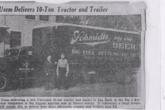 1936 Schmidt Beer Article