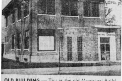 Municipal Building article - November 9th, 1961