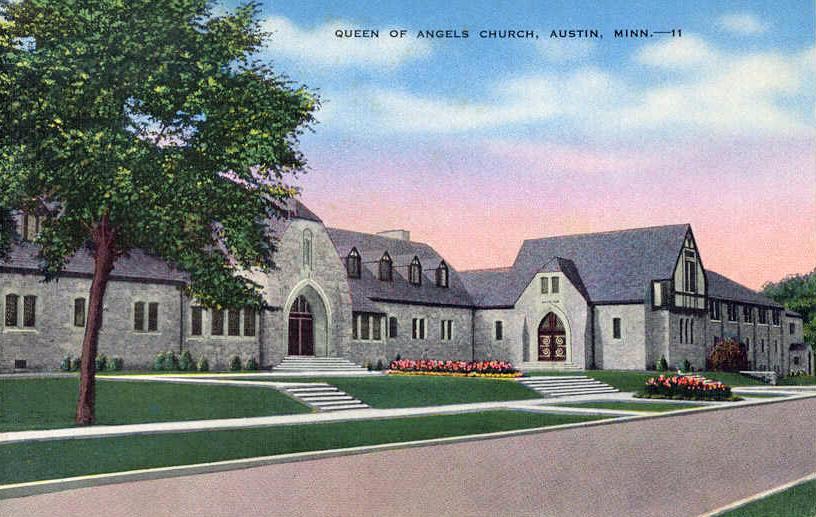 Queen of Angels Church Austin, Mn