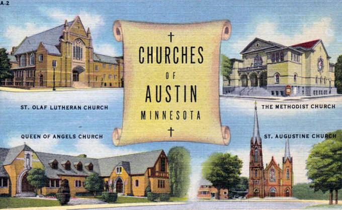 Churches of Austin, Mn