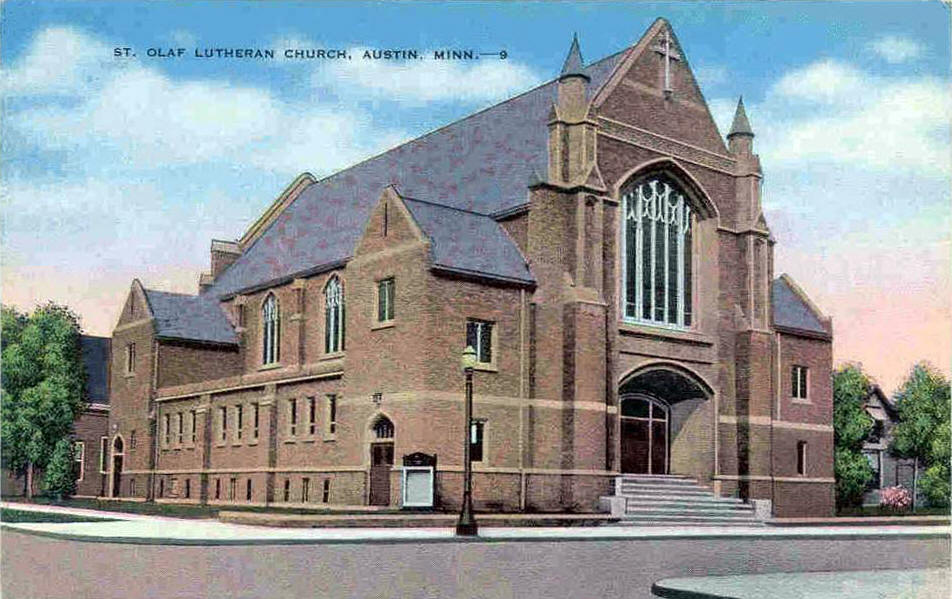 St. Olaf Lutheran Church Austin, Mn