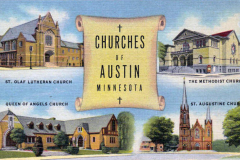 Churches of Austin, Mn