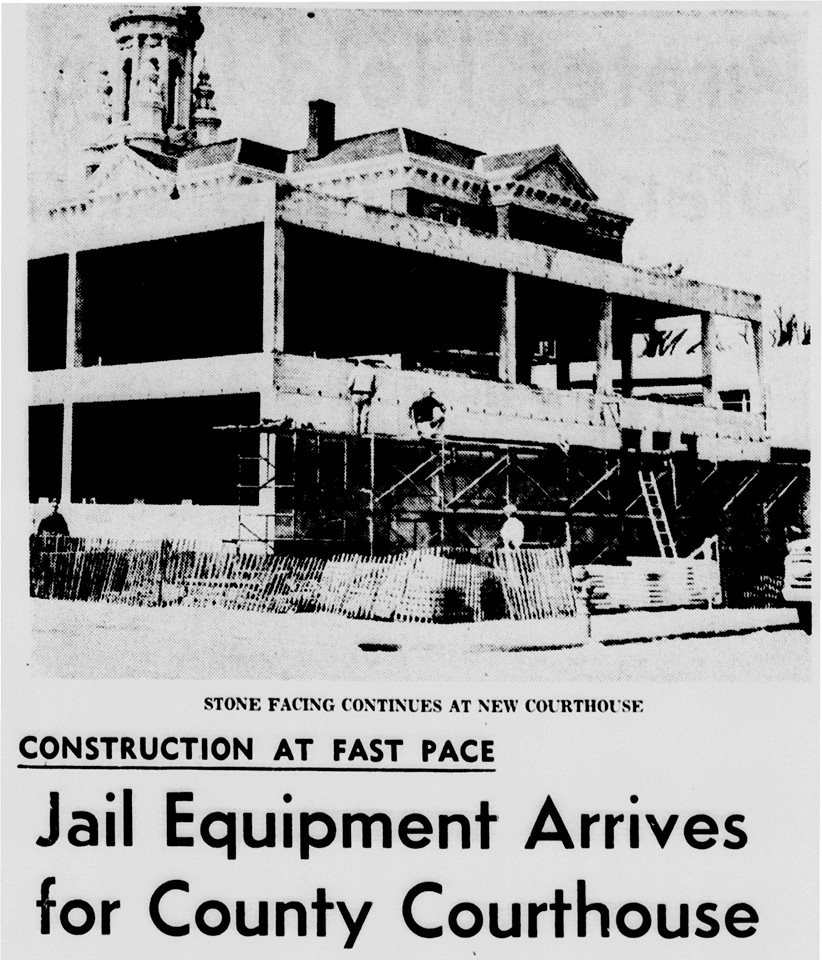 New Court House article - April 23rd, 1966