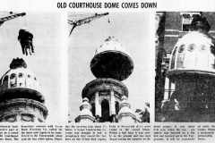 1967 Courthouse being torn down