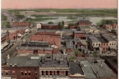 Taken from top of old courthouse late 1800 - early 1900s' Austin, Mn