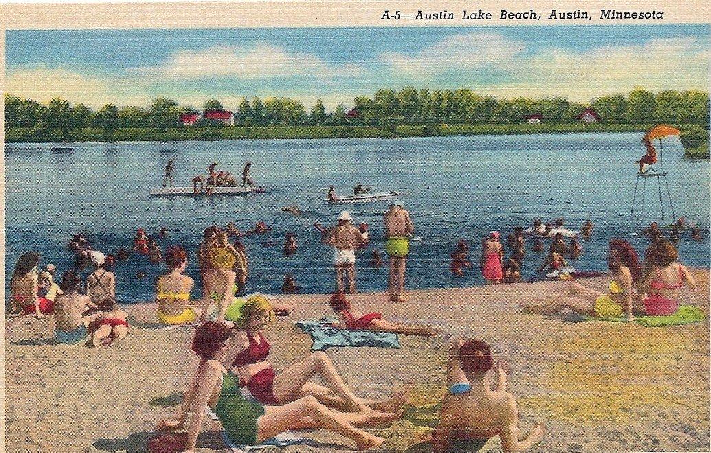 Swimming East Side Lake