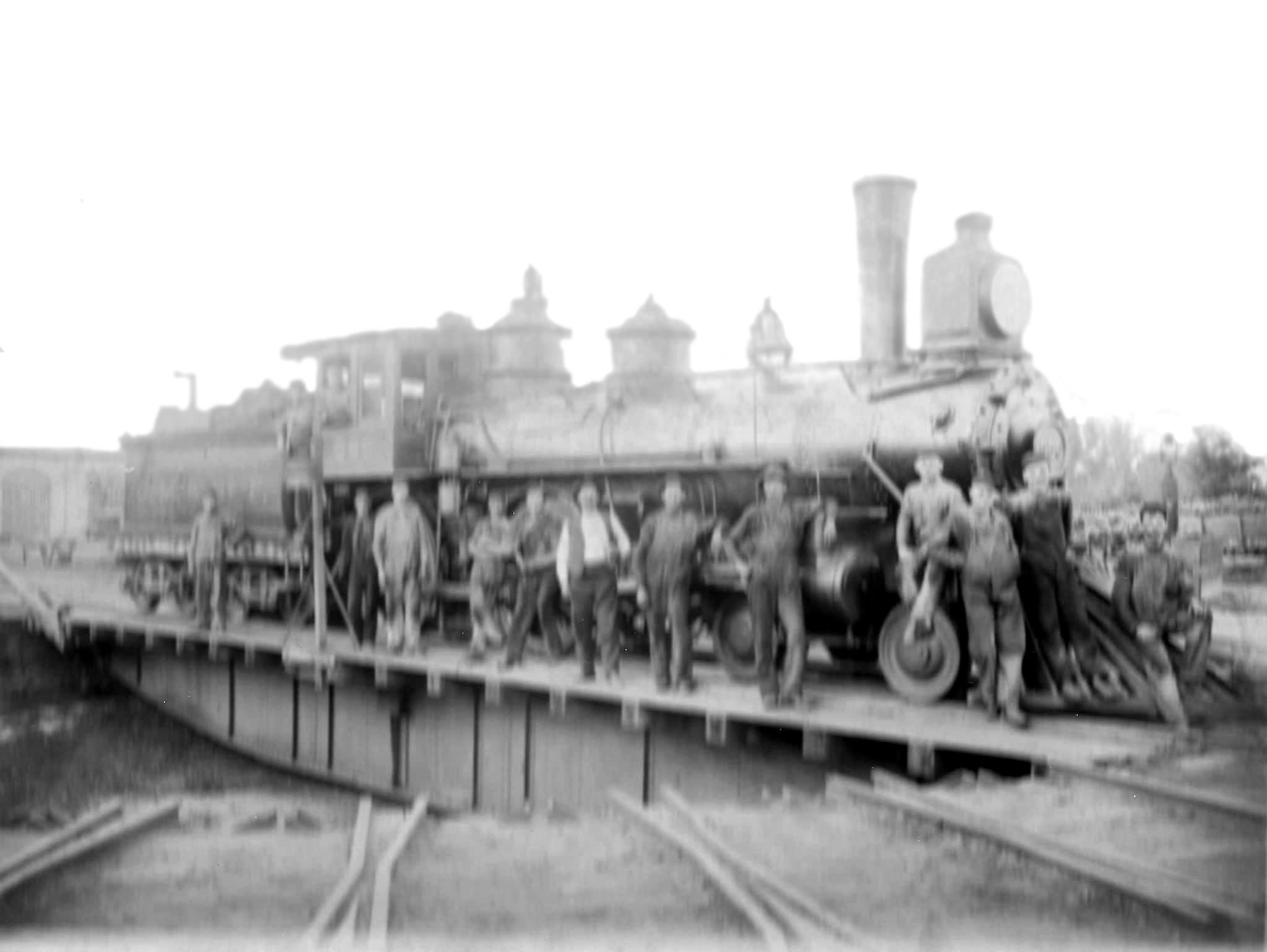 Austin Milwaukee Road Turntable - 1889