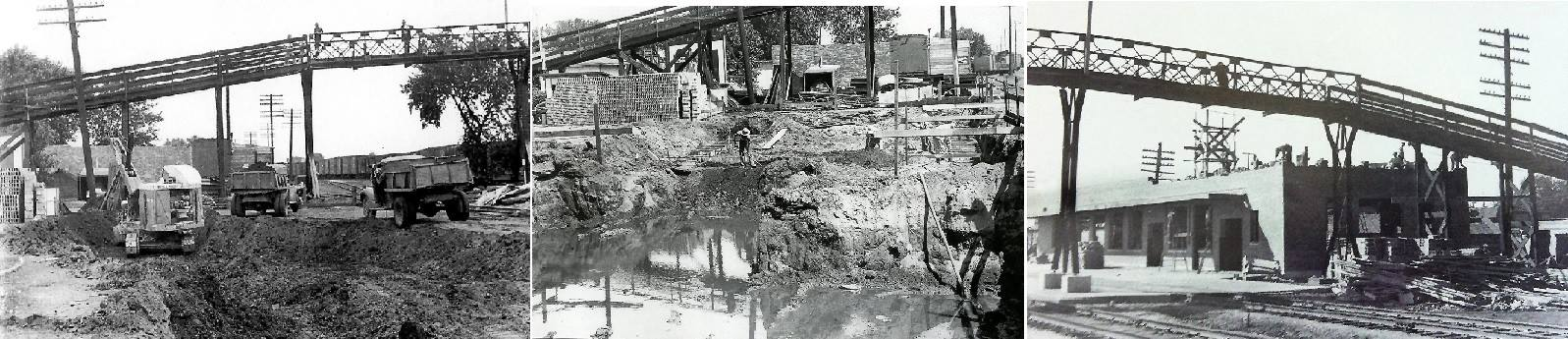 Building the Milwaukee Railroad Depot Austin, Mn