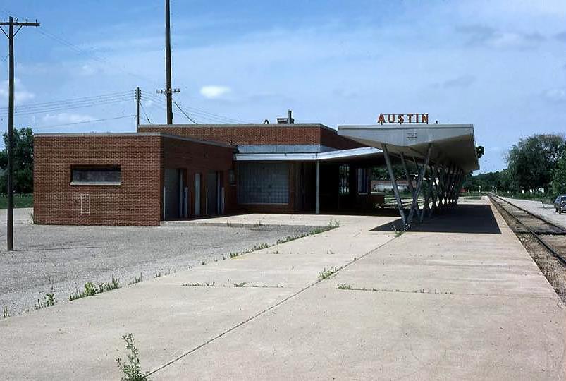 Chicago Great Western Depot Austin, Mn