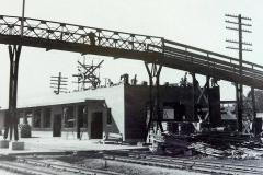 Building the Milwaukee Railroad Depot (410 N. Railway) Austin, Mn