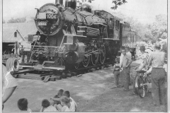 Locomotive gift - April 13, 1957 Austin, Mn