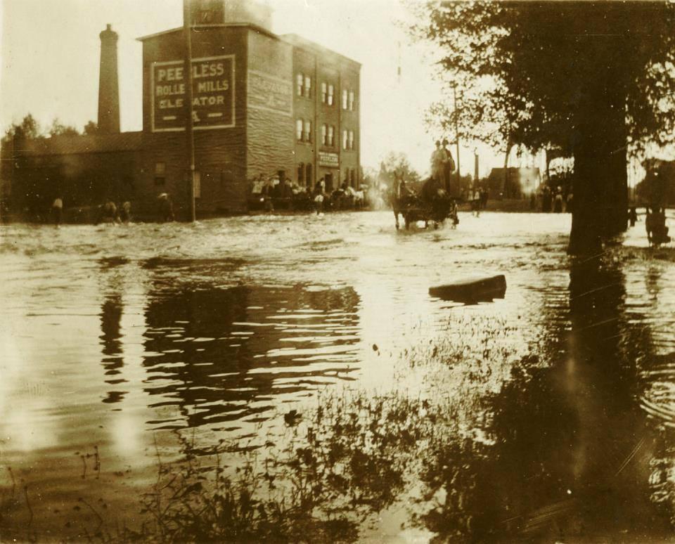 1908 flood Peerless Mill
