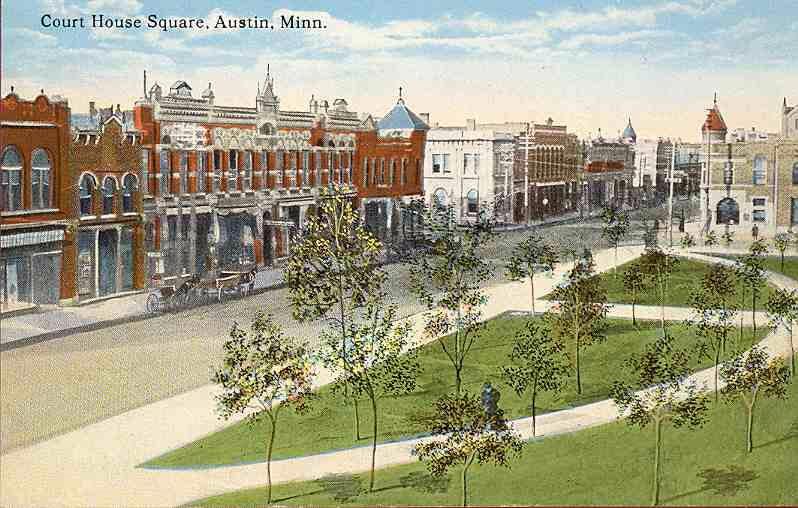 Court House Square Austin, Mn