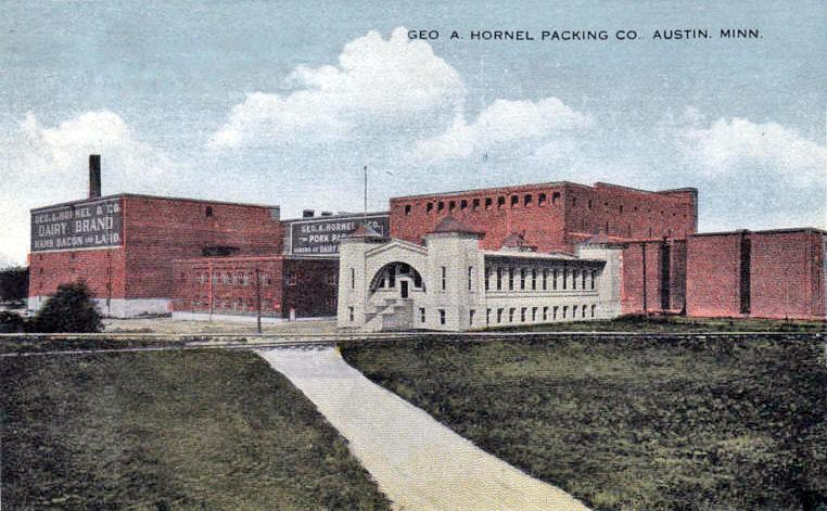 Geo. A. Hormel Packing Plant Austin, Mn