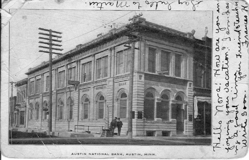 1914 Austin National Bank Austin, Mn