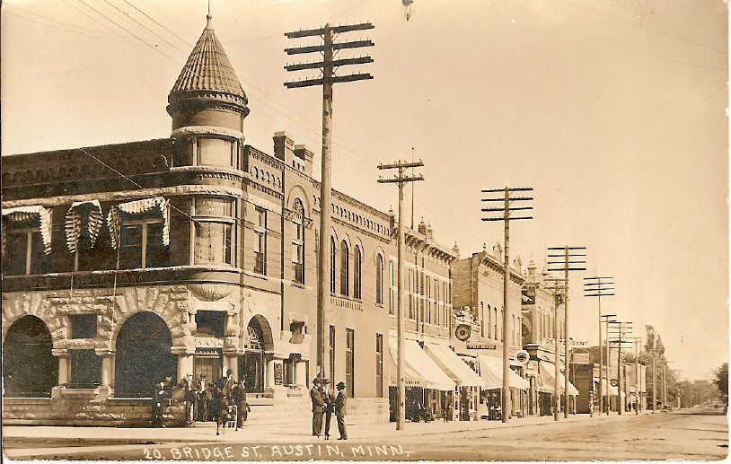 1914 Bridge Street & Main Austin, Mn