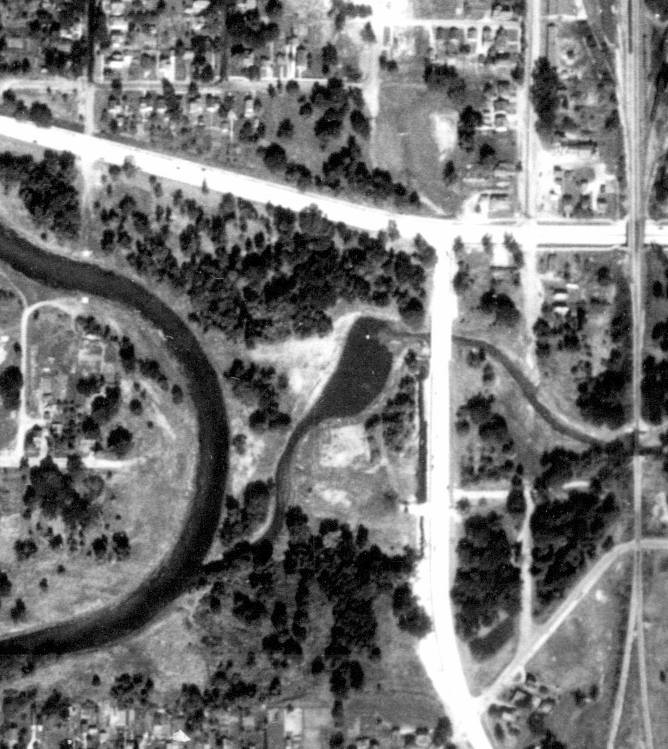 1938 aerial pic Skating Lagoon
