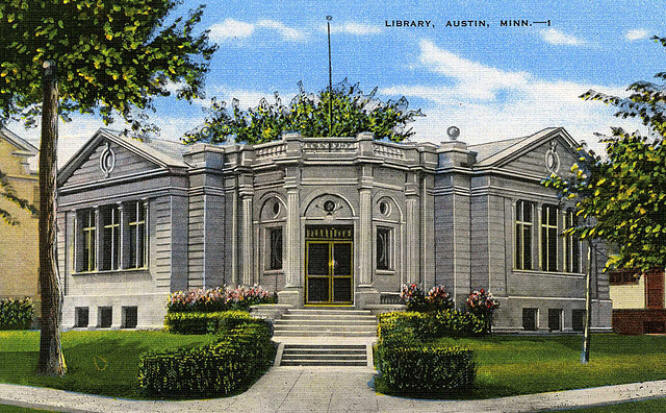 Library Austin, Mn