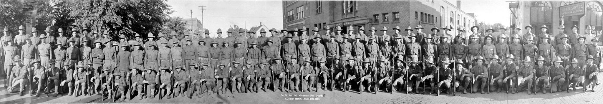 Co. G 2nd Inf. Minnesota National Guard - 1917