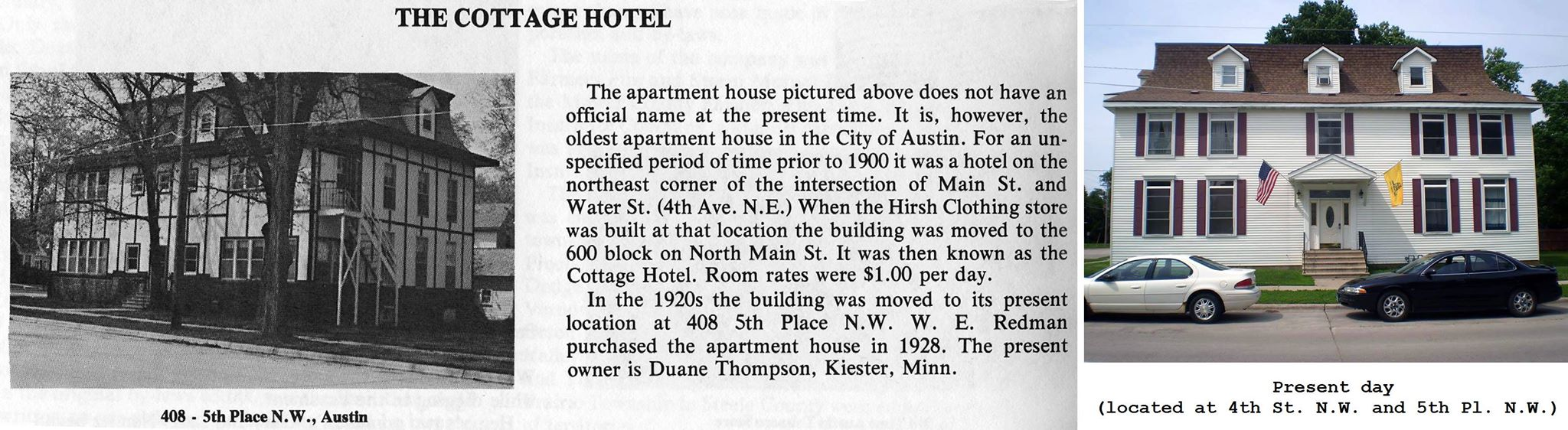 Cottage Hotel article