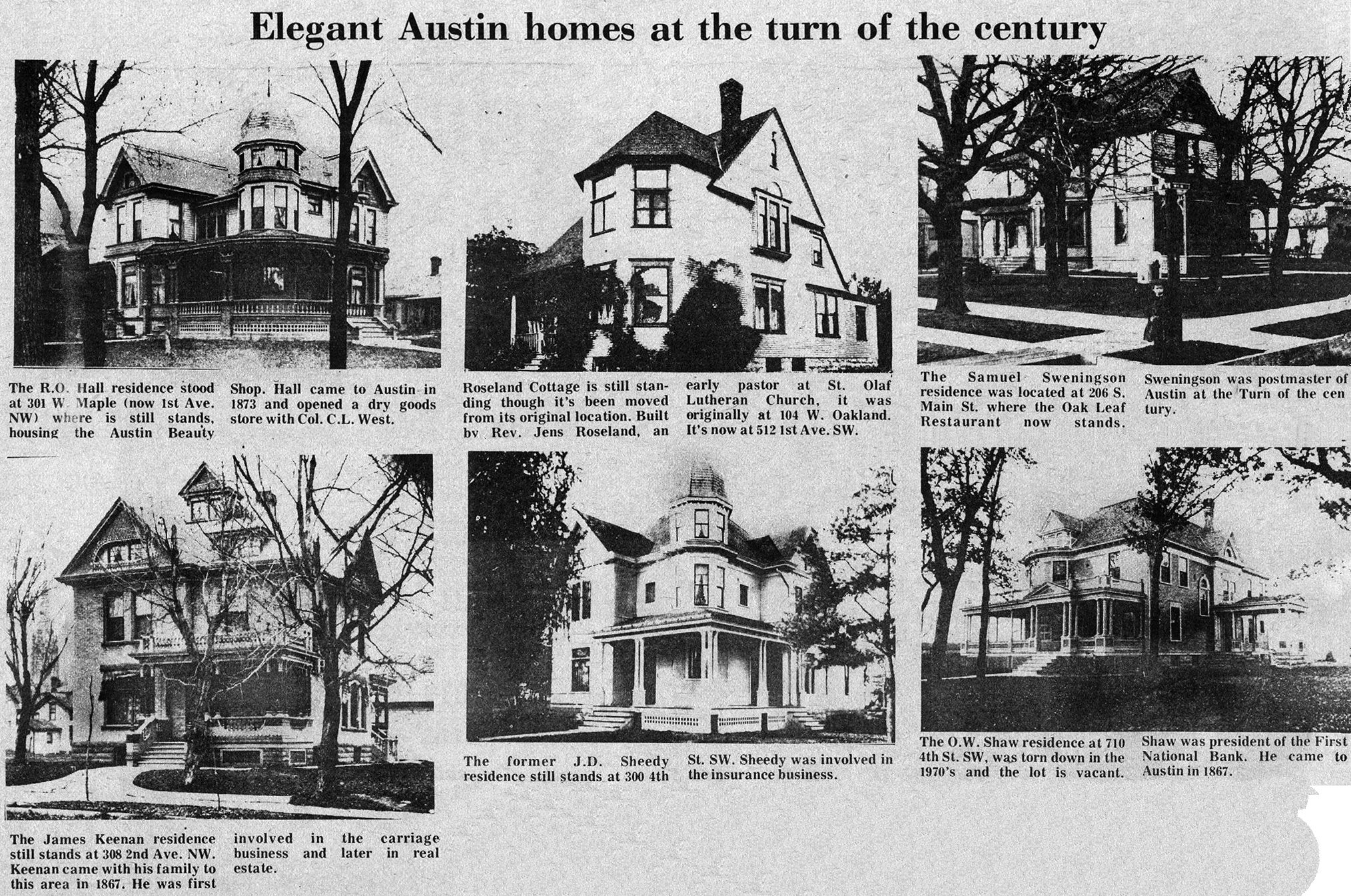 Elegant Houses Article Austin, Mn