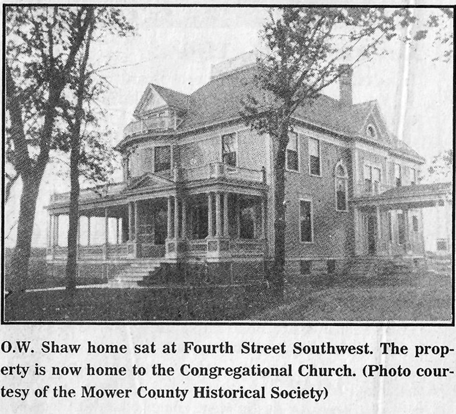 Shaw House Austin, Mn