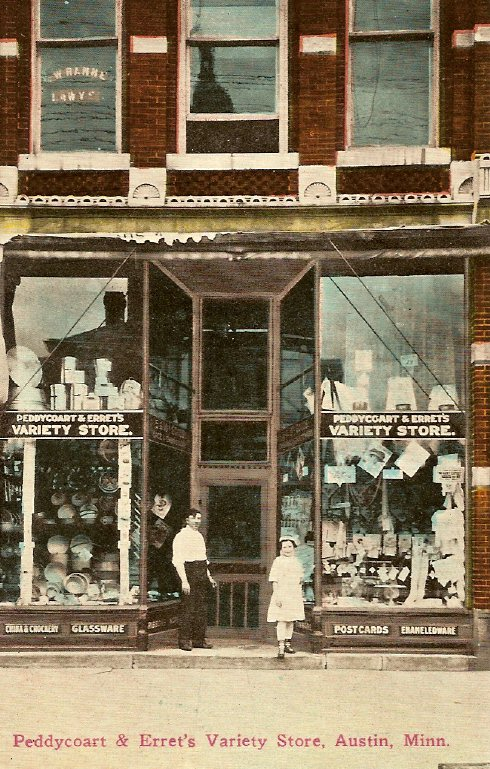 Peddycoart Errets 1914 Austin, Mn