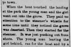 A Gallant Act article - June 28th, 1897