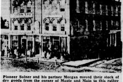 Basford's Brick Block Building article - October 7th, 1950