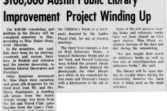 Library article - March 31st, 1964