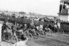 Motorcycle race - 1915 Austin, Mn