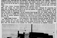 Oasis Ballroom Building article - June 16th, 1960
