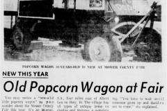 Popcorn Wagon article - August 6th, 1968