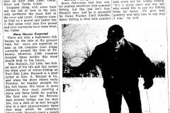 Ice fishing 1953 Austin, Mn