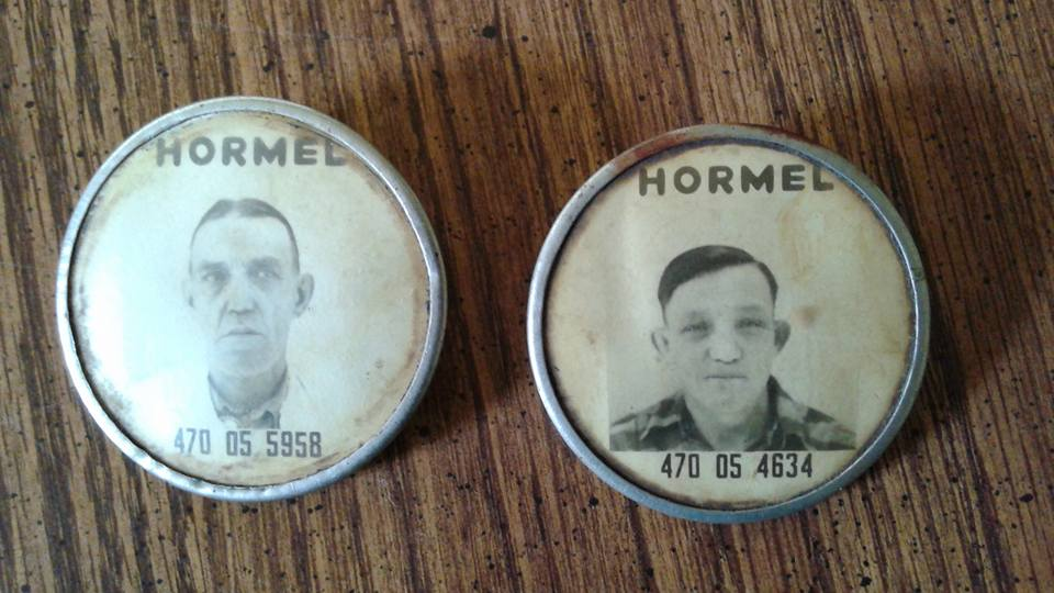 Hormel ID badges