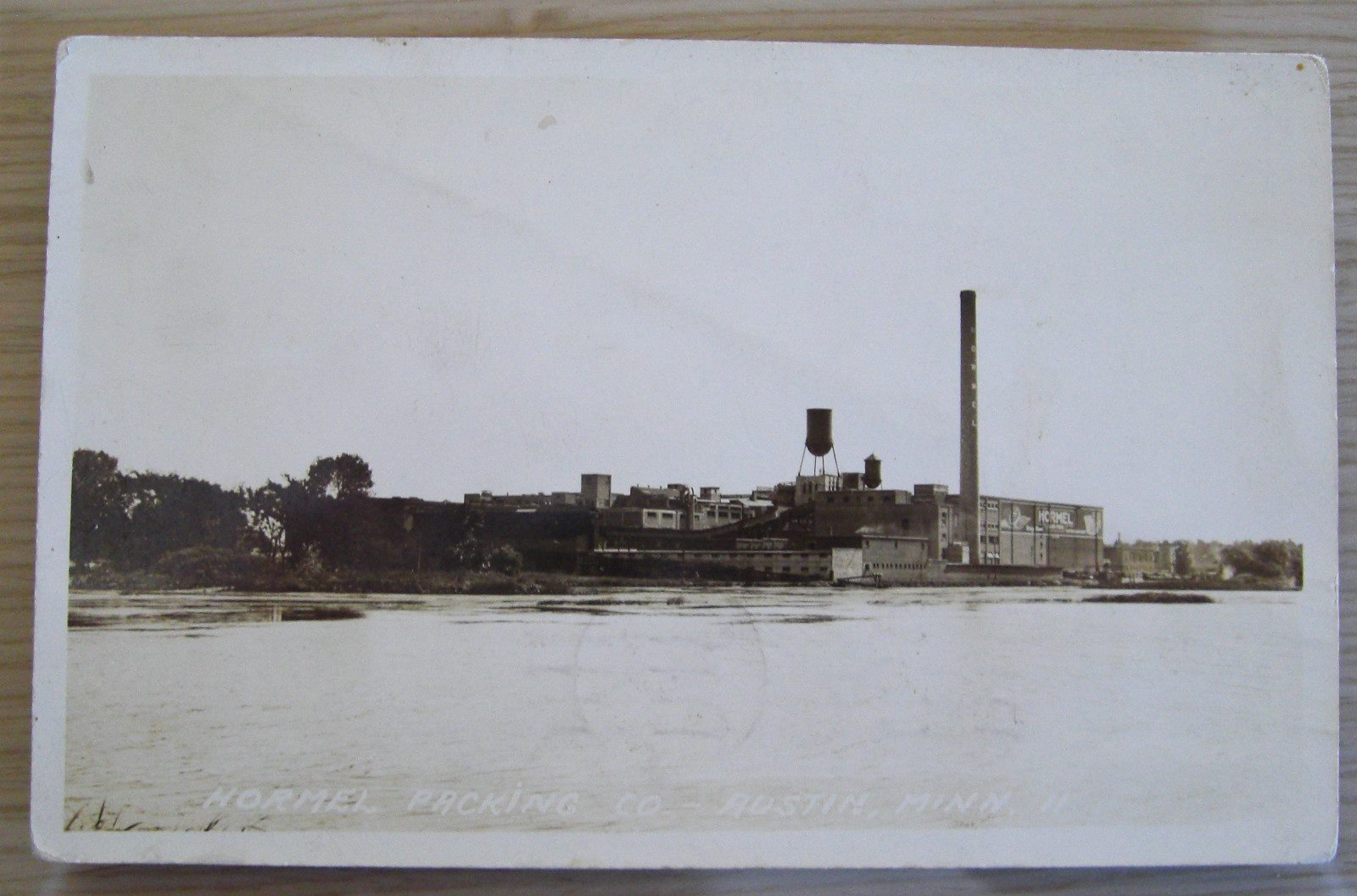 Picture from 1926 showing the old Hormel Foods plant in Austin