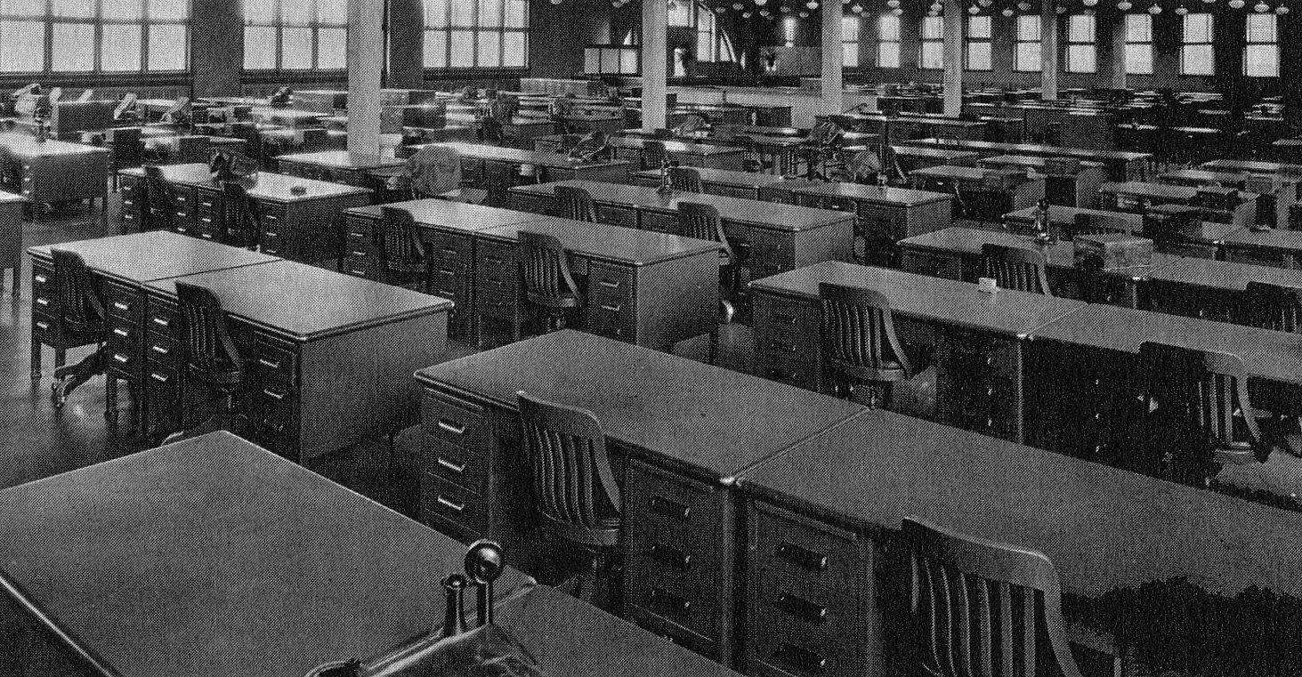The Hormel main office in 1930