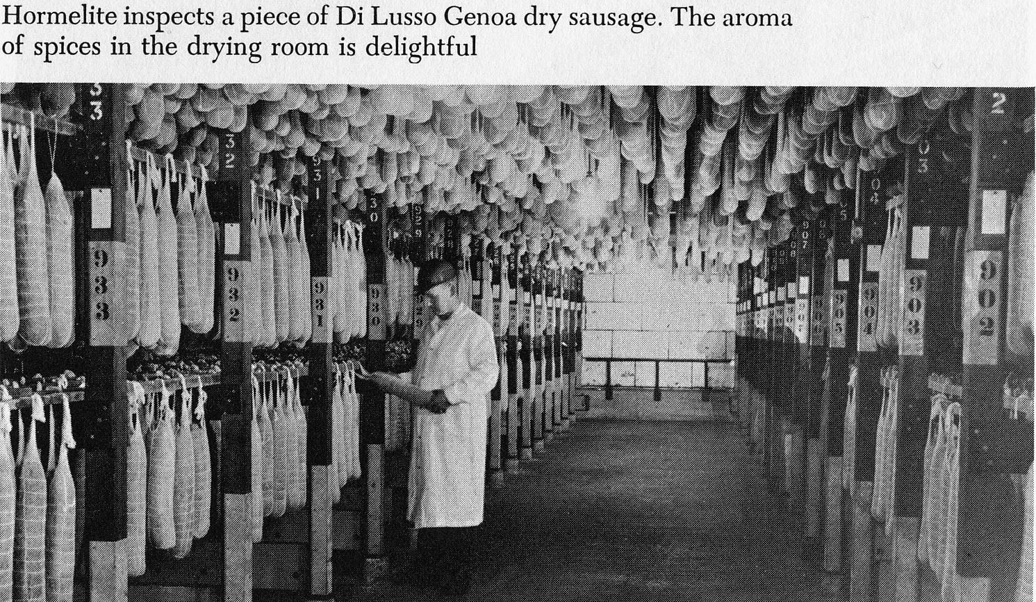 hormel dry sausage